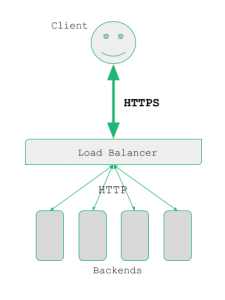 SSL Offload Scenario Diagram