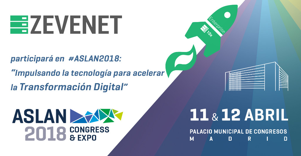 Zevenet at asLAN 2018 Congress and Expo