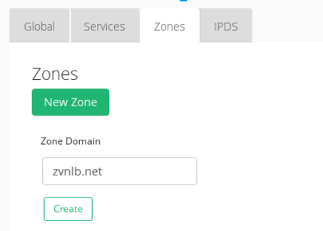 configure GSLB zone in the second data center