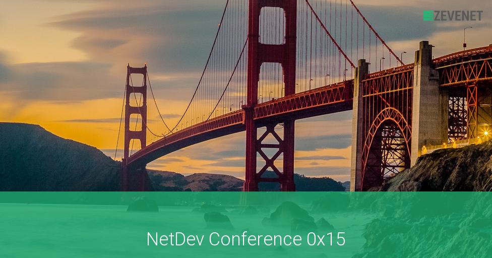 NetDev Coference 0X15